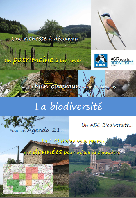 Plaquette de présentation synthèses biodiversité